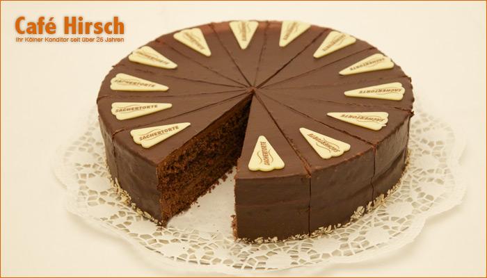 Sacher Torte Kolner Torten Express Wir Liefern Kuchen Torten